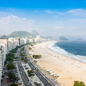 Am beliebtesten sind die Apartments an der Copacabana in Rio