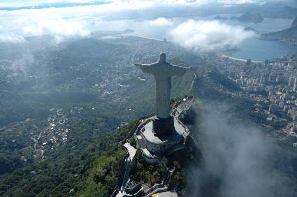 Aussicht Christus Rio de Janeiro