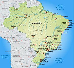 Es gibt drei Zeitzonen in Brasilien. Rio gehört zur Zeitzone BST.