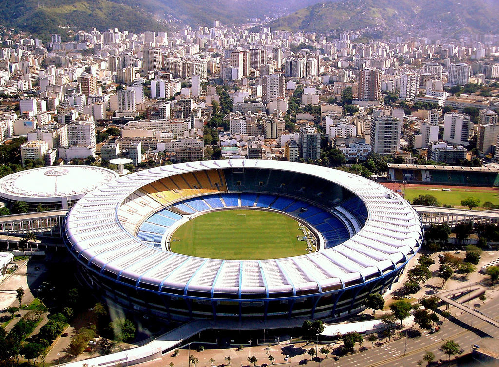 Maracana Stadion Rio de Janeiro