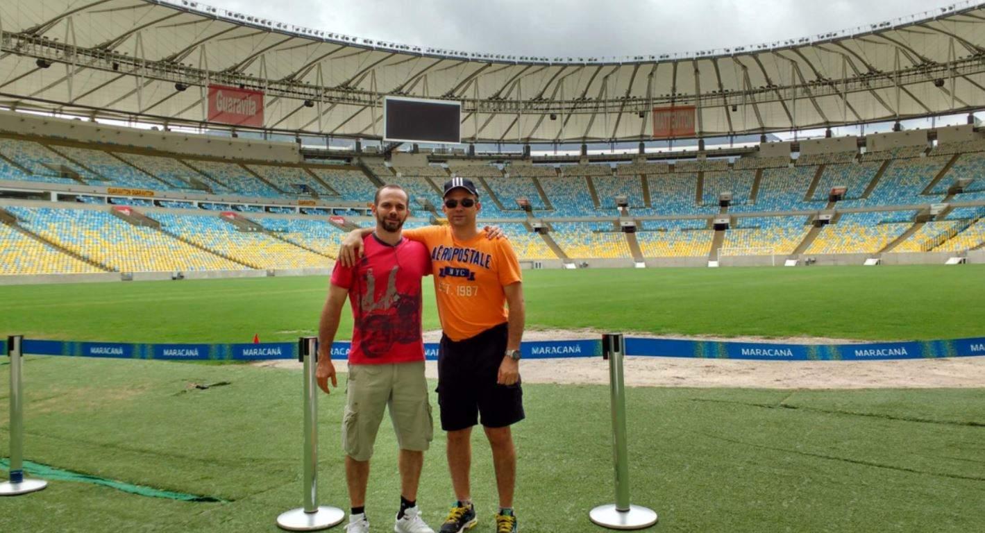 Erinnerungsbild Maracana Stadion