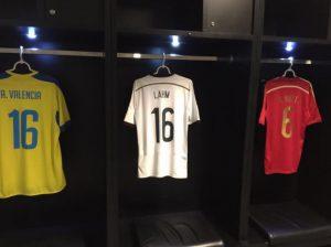 Trikot von Philip Lahm im Maracana Stadion